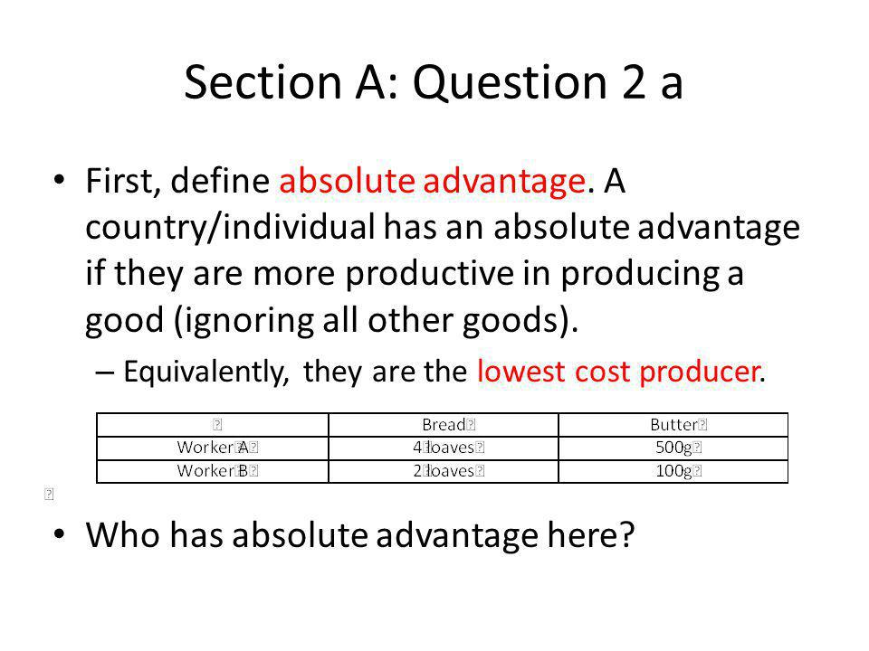 Section A: Question 4 a If a technology has increasing returns to scale how do Marginal and average costs vary with the level of output [3 marks] Increasing returns to scale means that increasing all inputs by, say, 1% increases output by more than 1%.