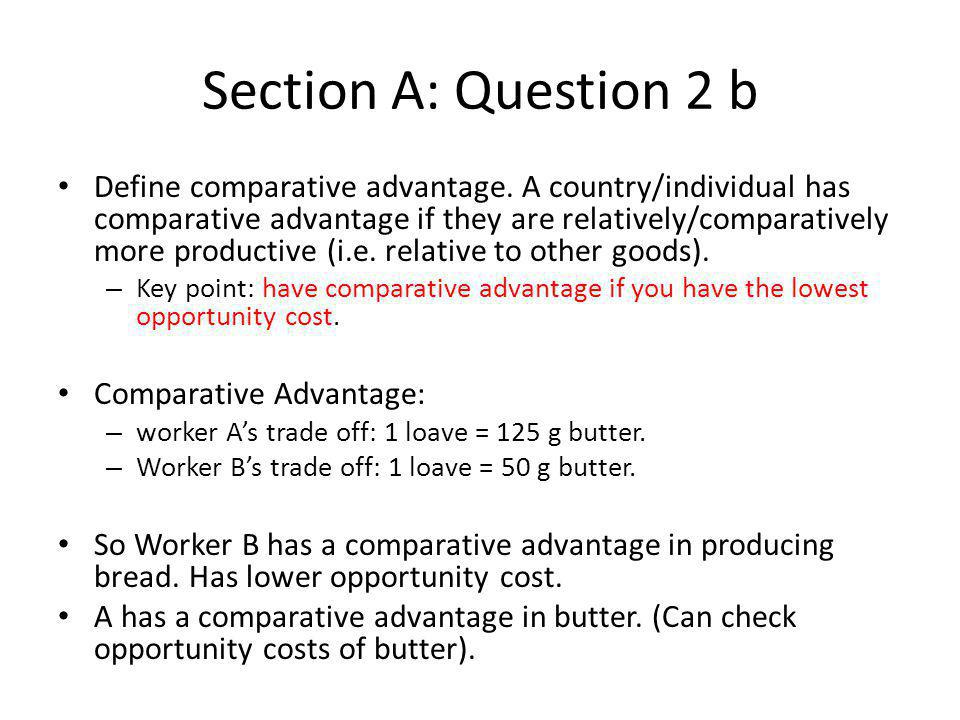Section B : Question 11 b On a diagram compare the price the monopolist will charge with the price that would prevail if the market was perfectly competitive.