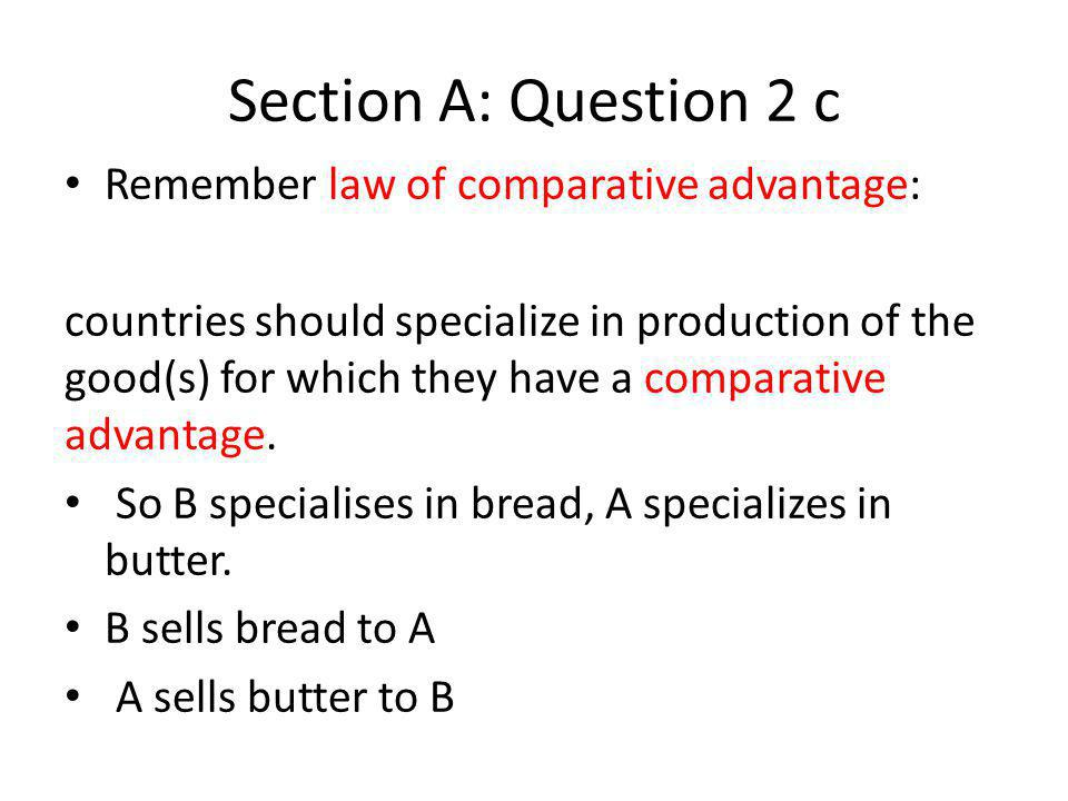 Section B : Question 9 d/e – We see that the equilibrium wage falls.