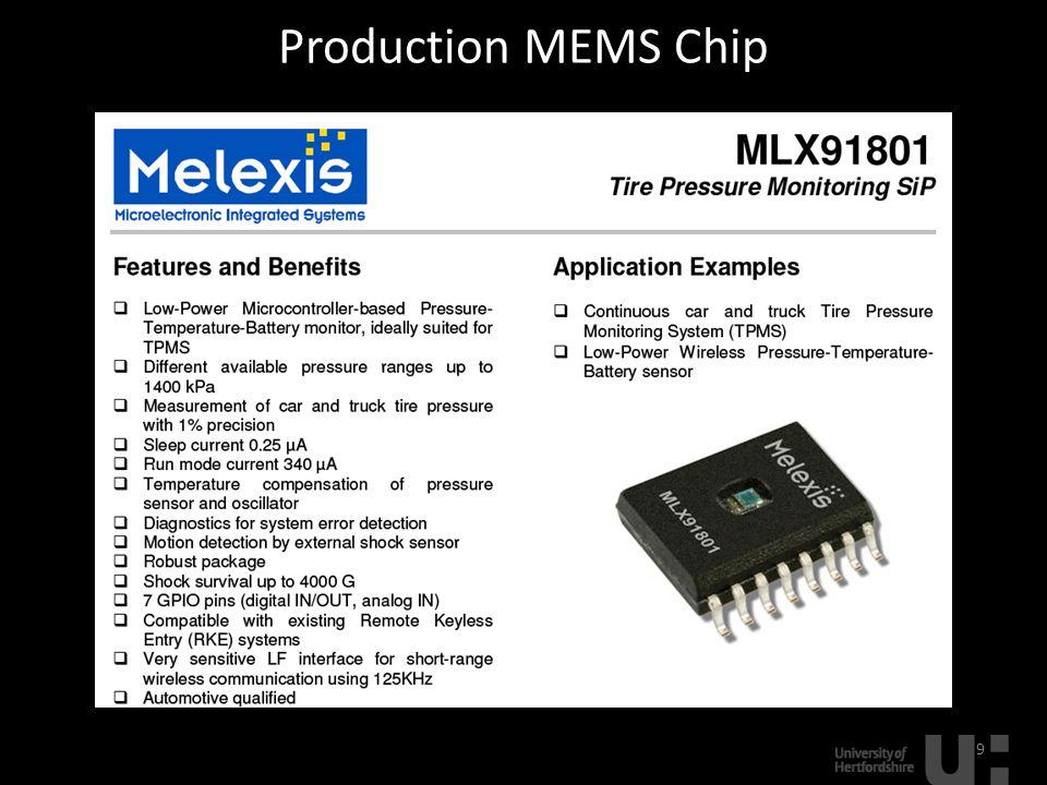 Production MEMS Chip 9