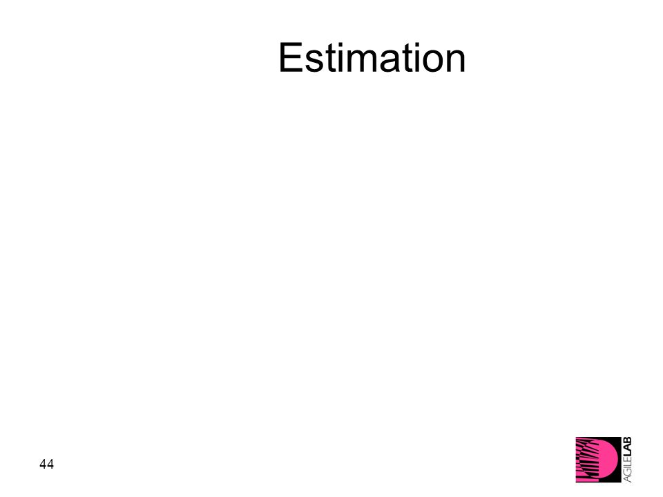 44 Estimation