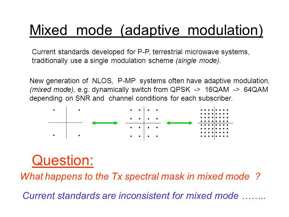 Inconsistencies in current standards < 1 GHz 1 – 3 GHz 3 - 11 GHz 24 - 29 GHz Multipart Standard 4130 ????.