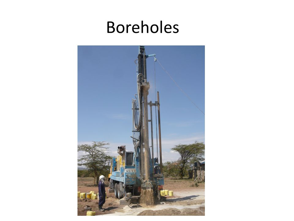 Boreholes