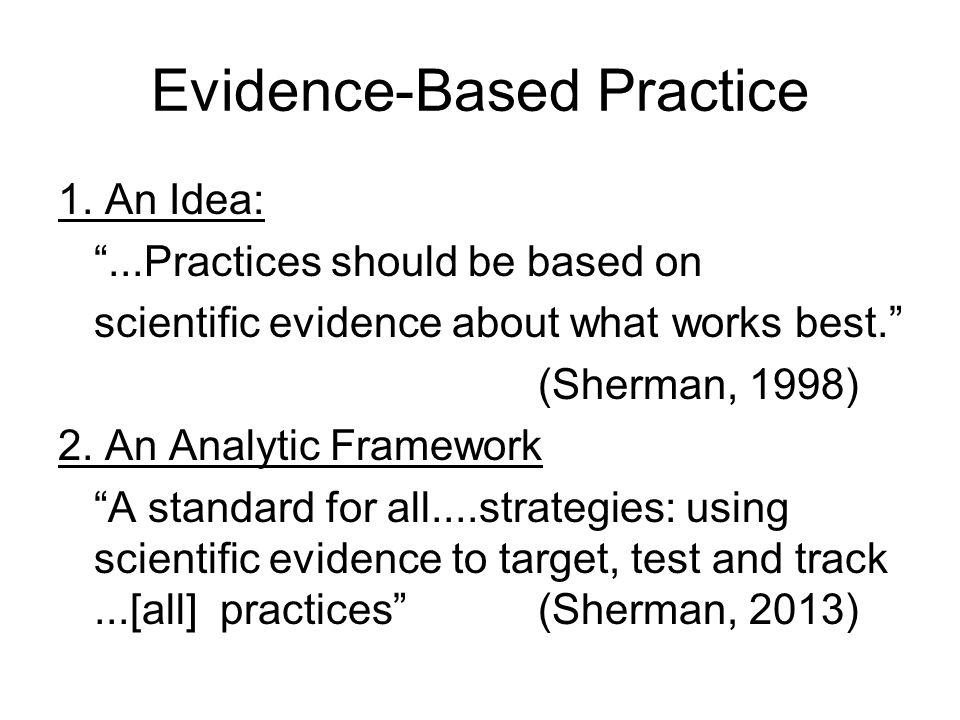 Evidence-Based Practice 1.