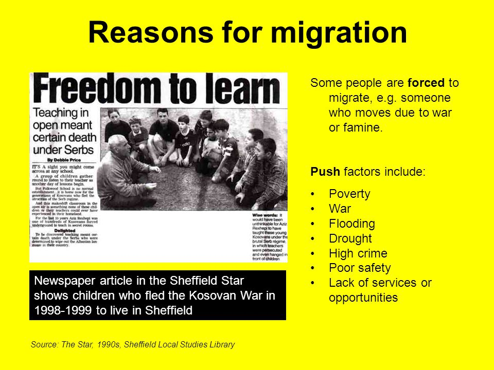 Different types of immigrants A migrant worker is someone who moves to another country to find work.