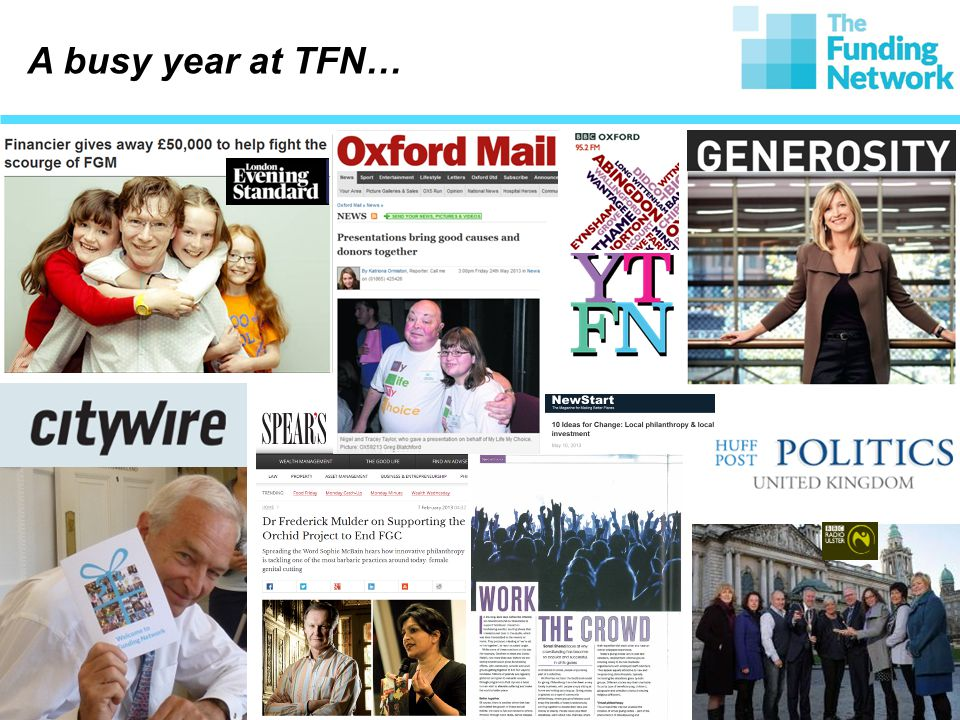 A busy year at TFN…