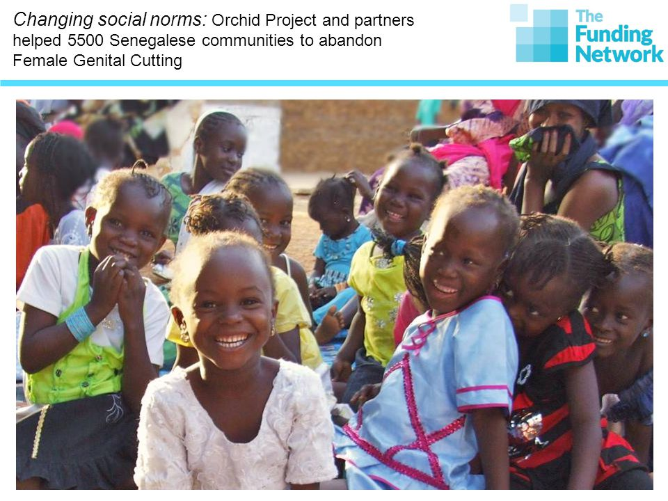 Changing social norms: Orchid Project and partners helped 5500 Senegalese communities to abandon Female Genital Cutting