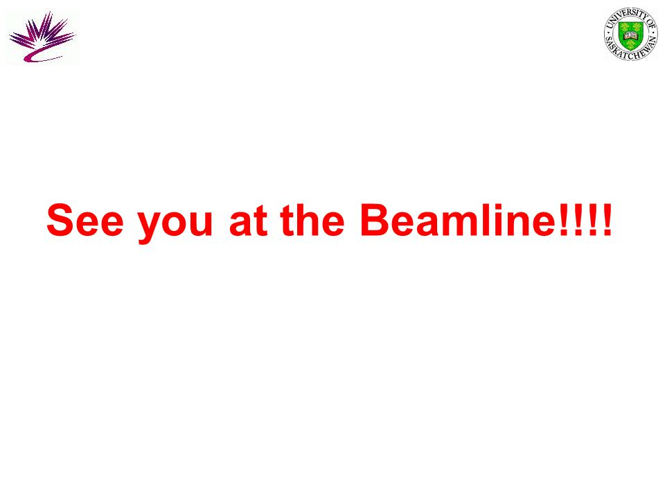 See you at the Beamline!!!!