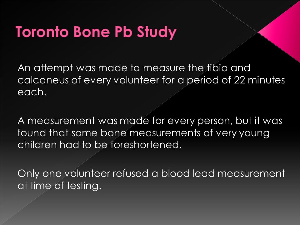 An attempt was made to measure the tibia and calcaneus of every volunteer for a period of 22 minutes each.