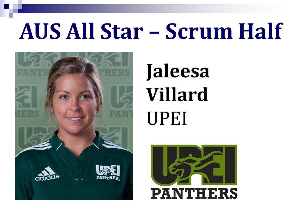 Jaleesa Villard UPEI AUS All Star – Scrum Half