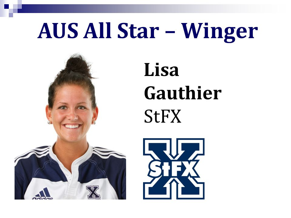 Lisa Gauthier StFX AUS All Star – Winger