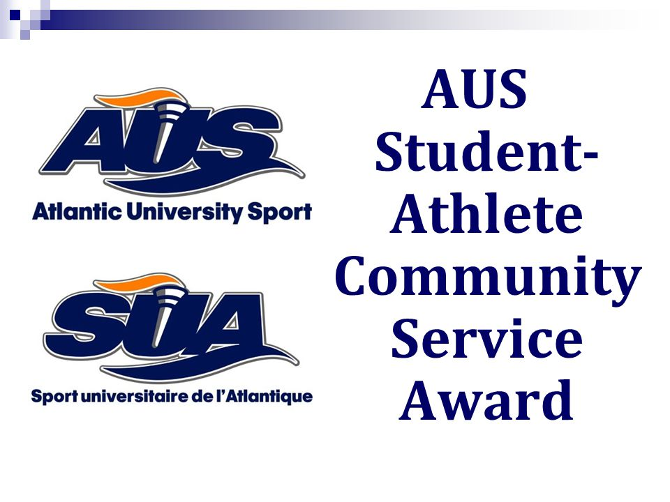 AUS Student- Athlete Community Service Award