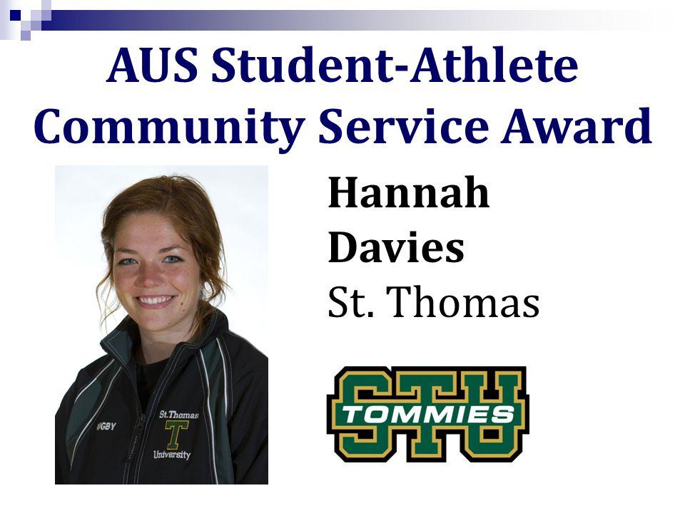 Hannah Davies St. Thomas