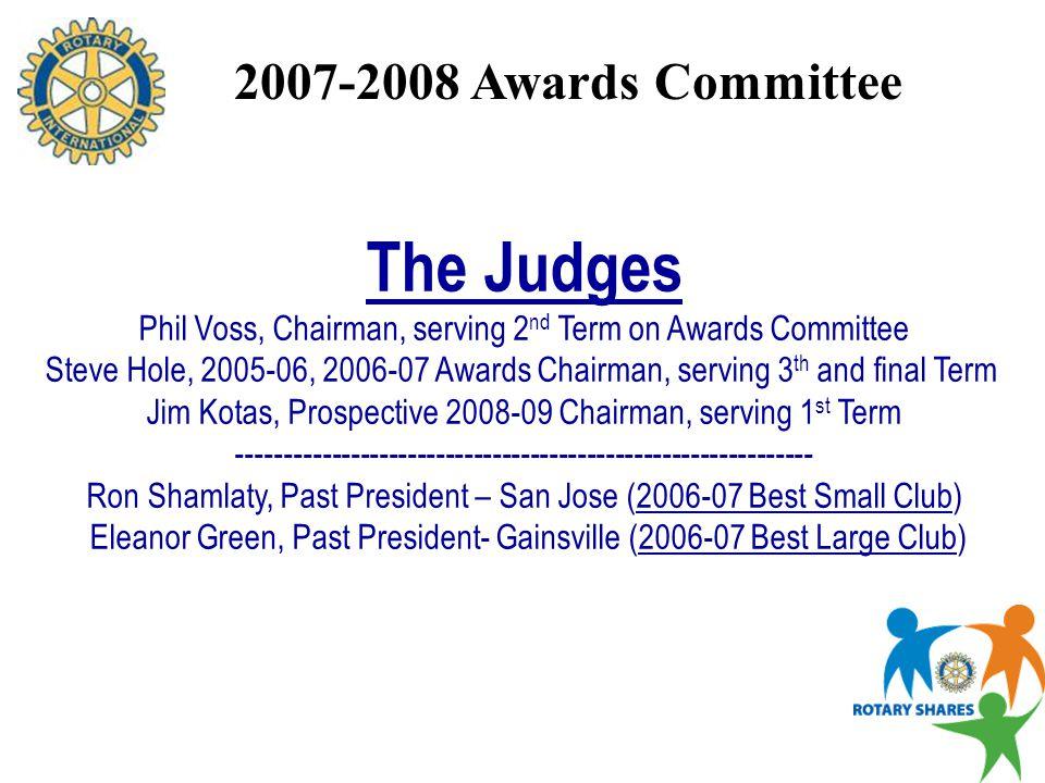 District 6907 AWARDS