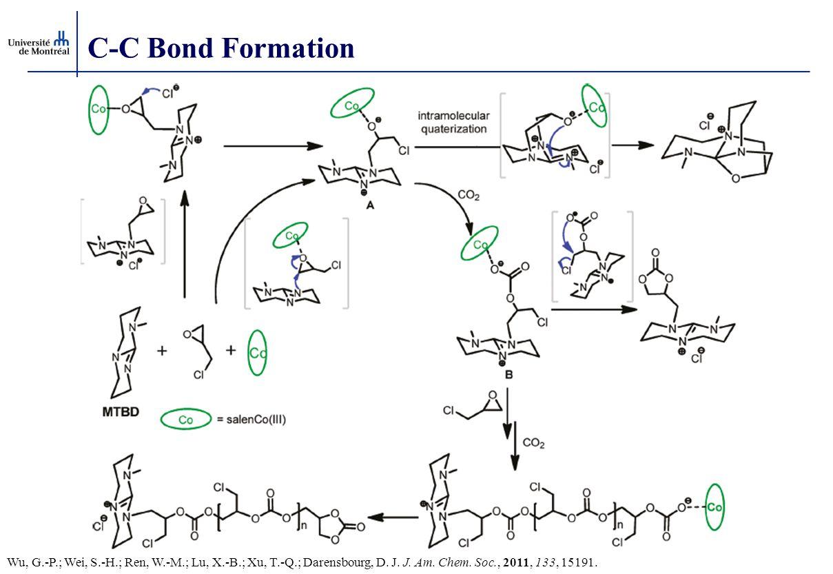 C-C Bond Formation Wu, G.-P.; Wei, S.-H.; Ren, W.-M.; Lu, X.-B.; Xu, T.-Q.; Darensbourg, D. J. J. Am. Chem. Soc., 2011, 133, 15191.