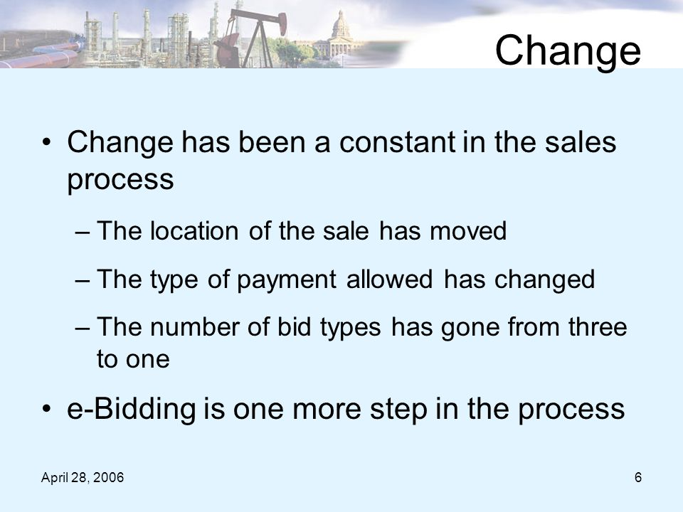 April 28, 200667 Helpful Hints for e-Bidding Click on the word All to sort the parcels you have chosen to the top