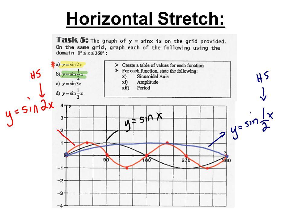 Horizontal Stretch: