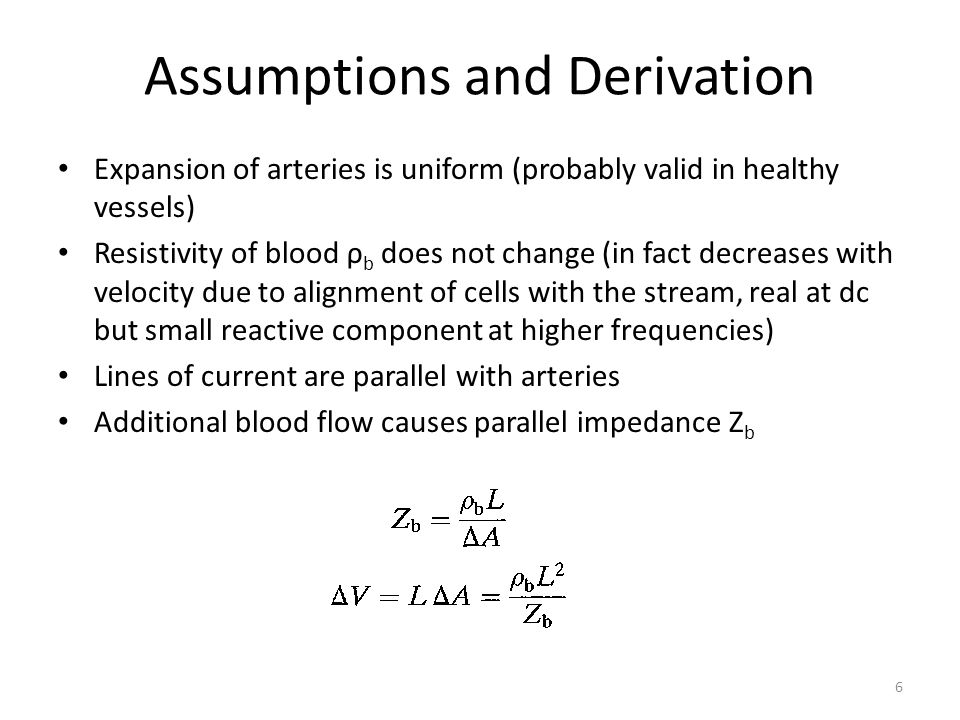 Derivation (cont'd) We are really measuring the change ΔZ 7