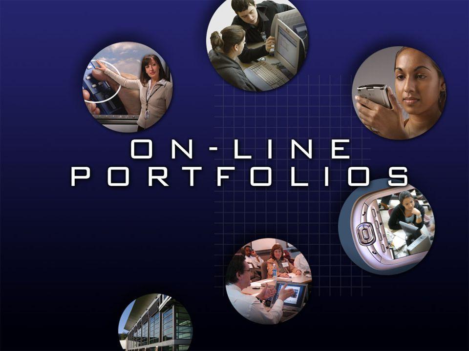 How might you build an e- portfolio?