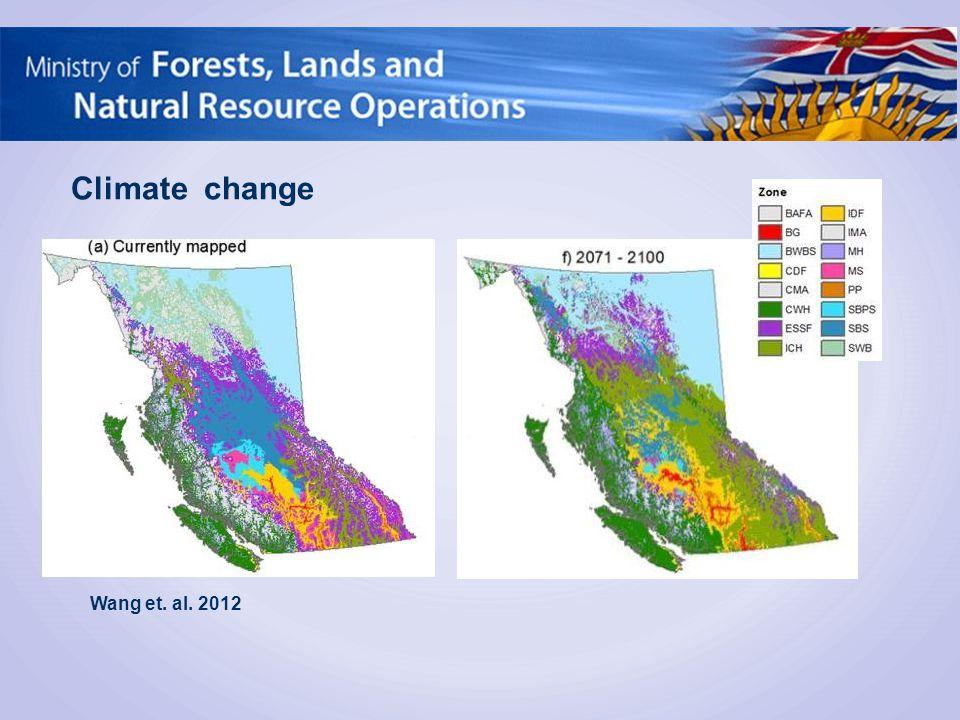 Wang et. al. 2012 Climate change