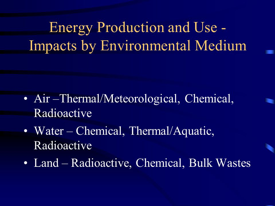 Air Emissions by Electricity Generation Method Lbs/ MWh CoalOilGas Municipal Waste Nuclear/ Renewables CO 2 22491672113529880 SO 2 13120.10.80 NO x 641.75.40