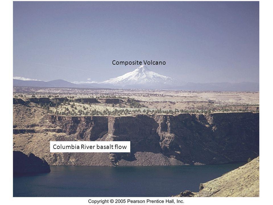 Columbia River basalt flow Composite Volcano