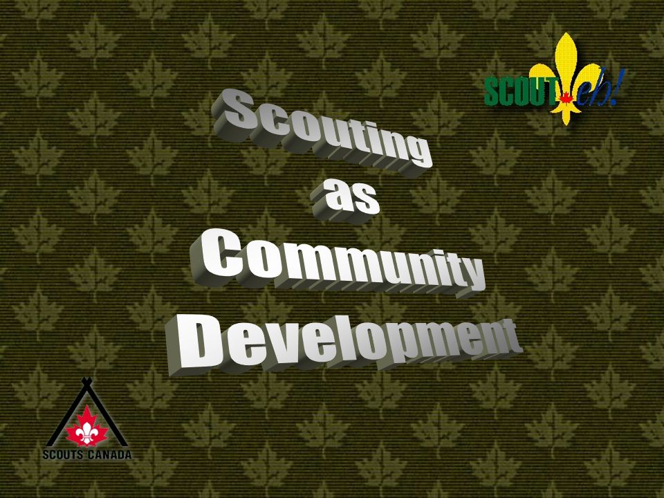 Steps in Community Development Use Community Resources Approach Merchants, Service Clubs, Police, Firemen, Media (TV-Radio-Press)