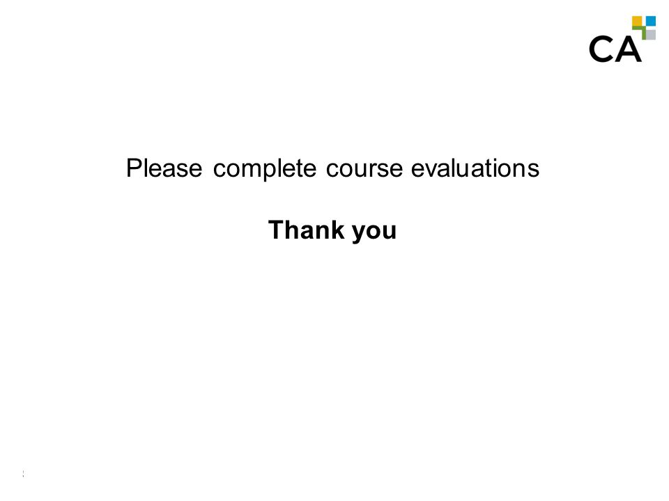 SR & ED Tax Credits MODULE N -407 Please complete course evaluations Thank you