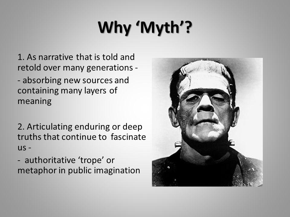 Why 'Myth'. 1.
