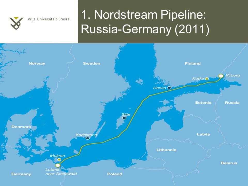 1. Nordstream Pipeline: Russia-Germany (2011) Titel van de presentatie 5/10/2014 | pag. 39