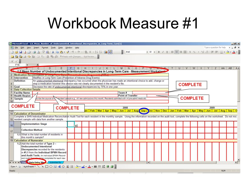 Workbook Measure #1 COMPLETE