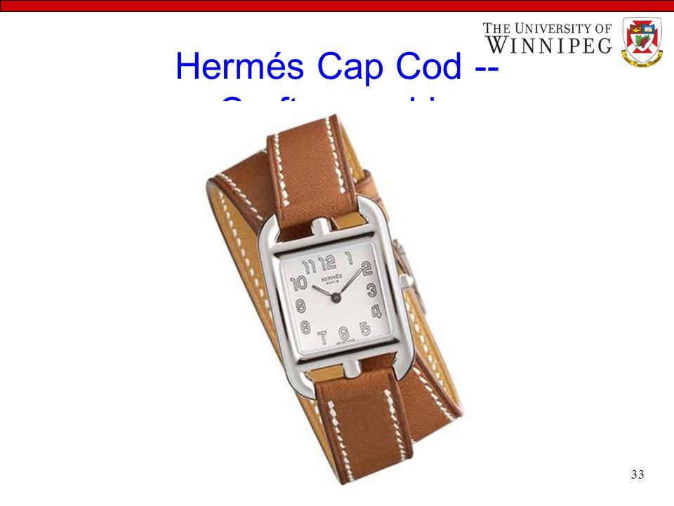 Hermés Cap Cod -- Craftsmanship 33