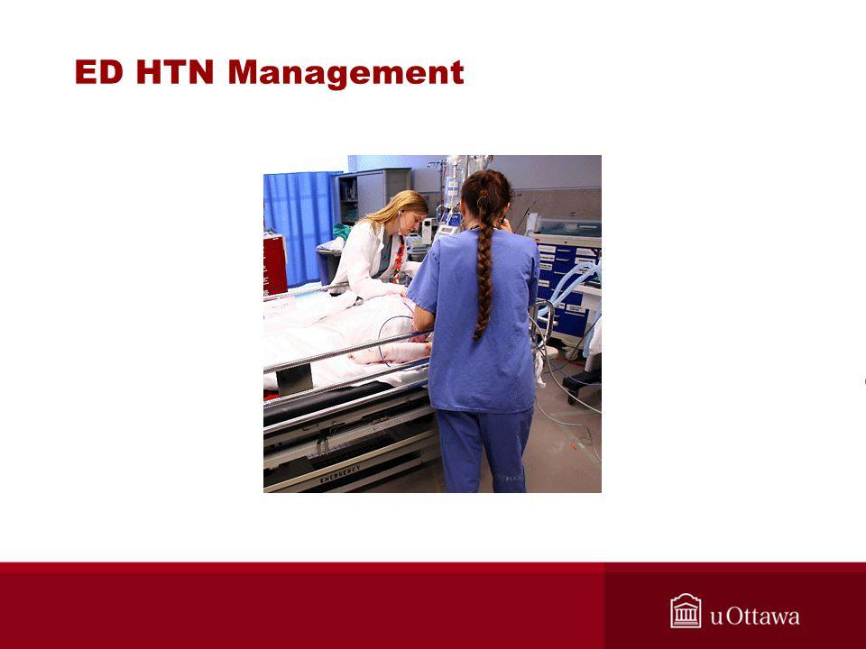 ED HTN Management