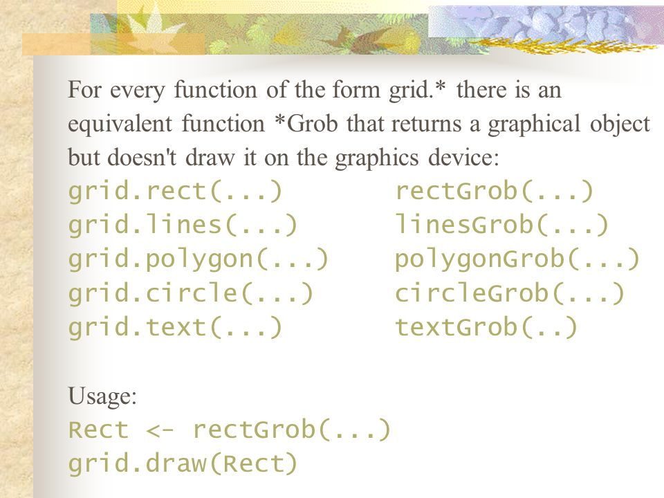 Further reading R Graphics / Paul Murrell