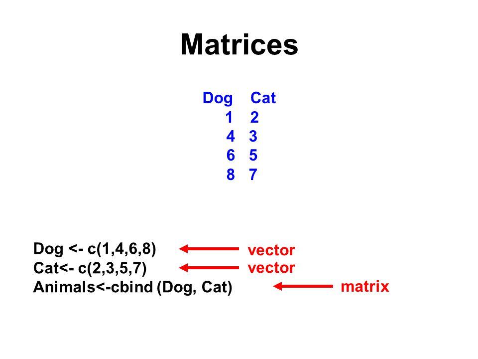 Logical operators x<- 5; y<- 6 x > y x< y x==y x!=y True is the same as 1, false is the same as 0 false true false true 2 + (x>=y) 2 + (x<=y) 2323