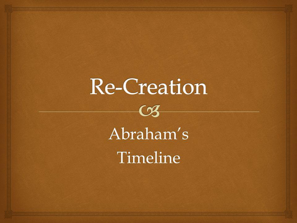 Abraham'sTimeline