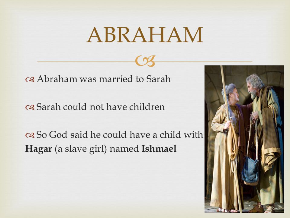   God makes a covenant with Abraham and promised him  Many descendants  Land
