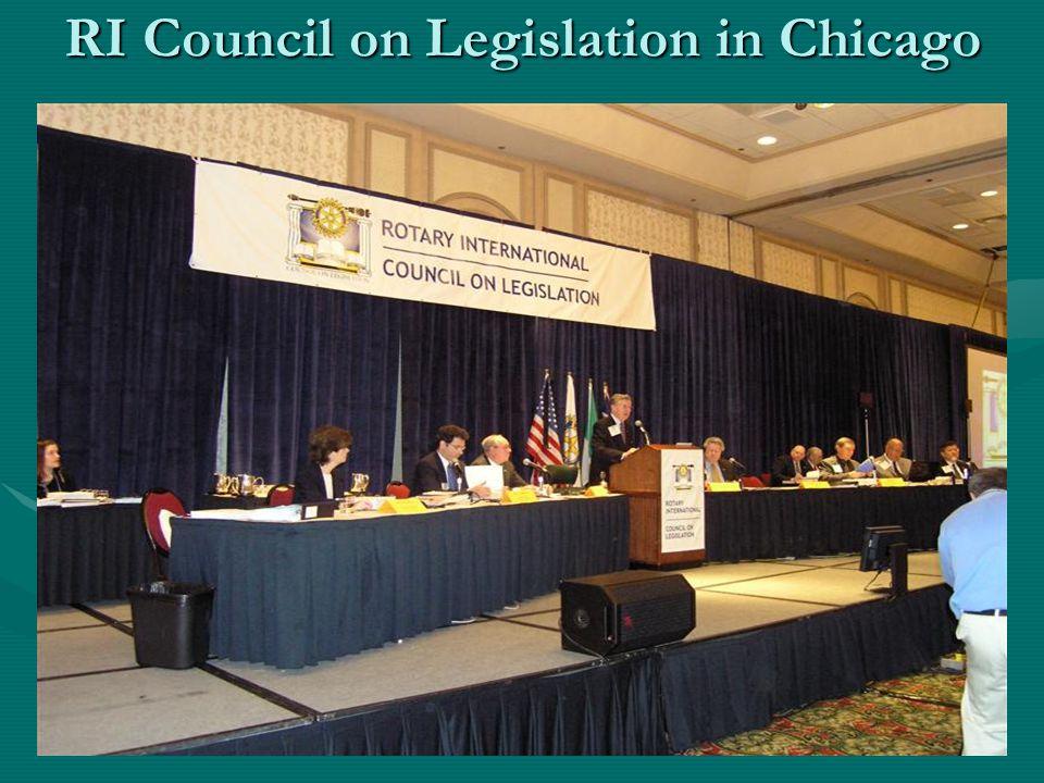 RI Council on Legislation in Chicago