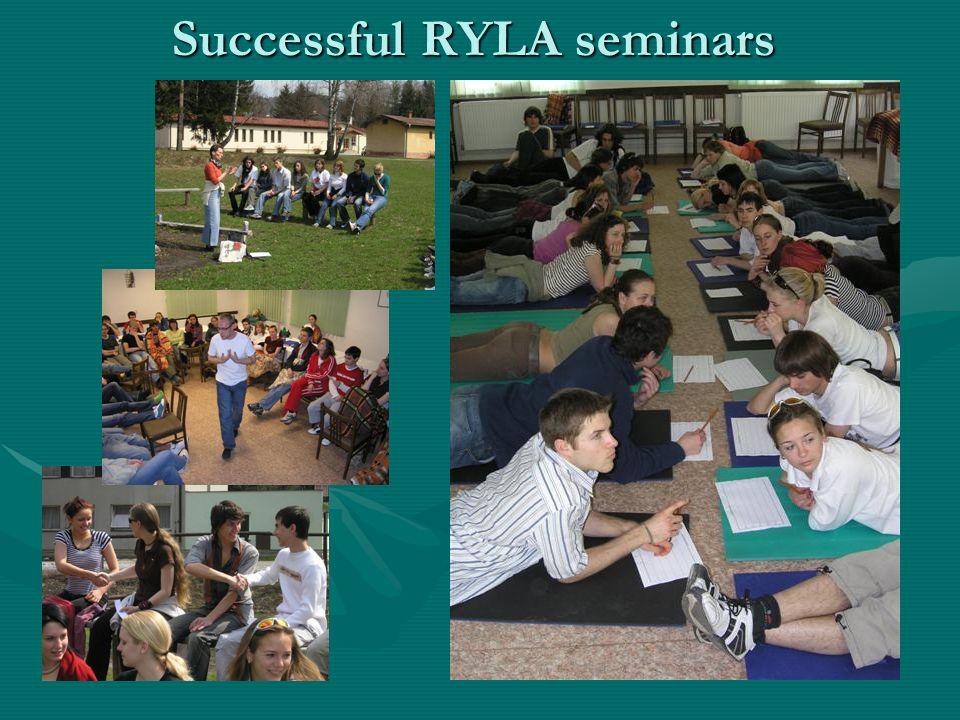 Successful RYLA seminars