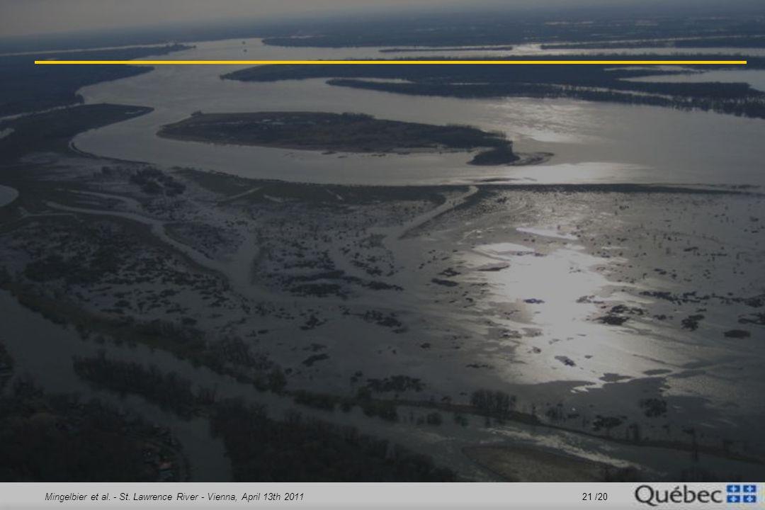 Mingelbier et al. - St. Lawrence River - Vienna, April 13th 2011 21 /20