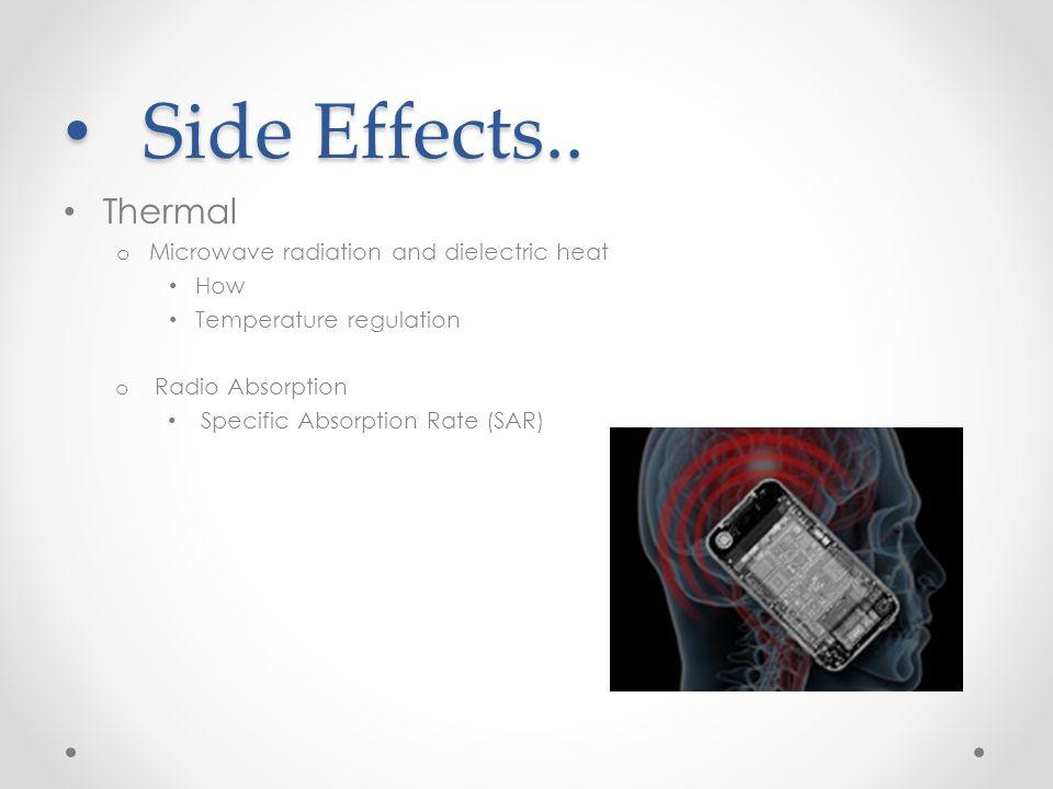 Side Effects.. Side Effects..