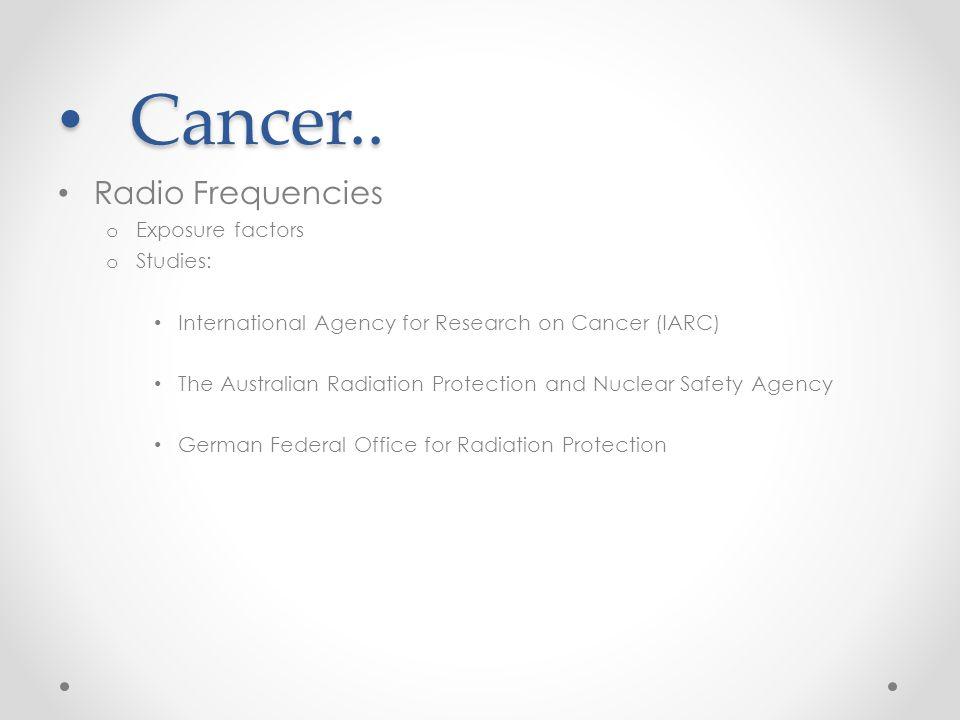 Cancer.. Cancer..