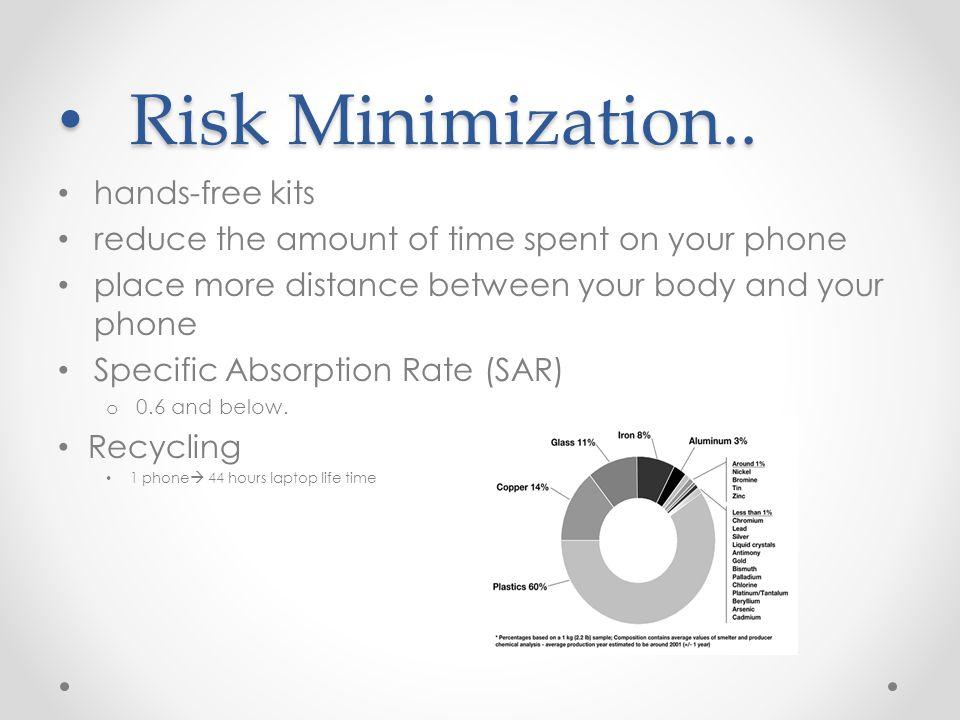 Risk Minimization.. Risk Minimization..