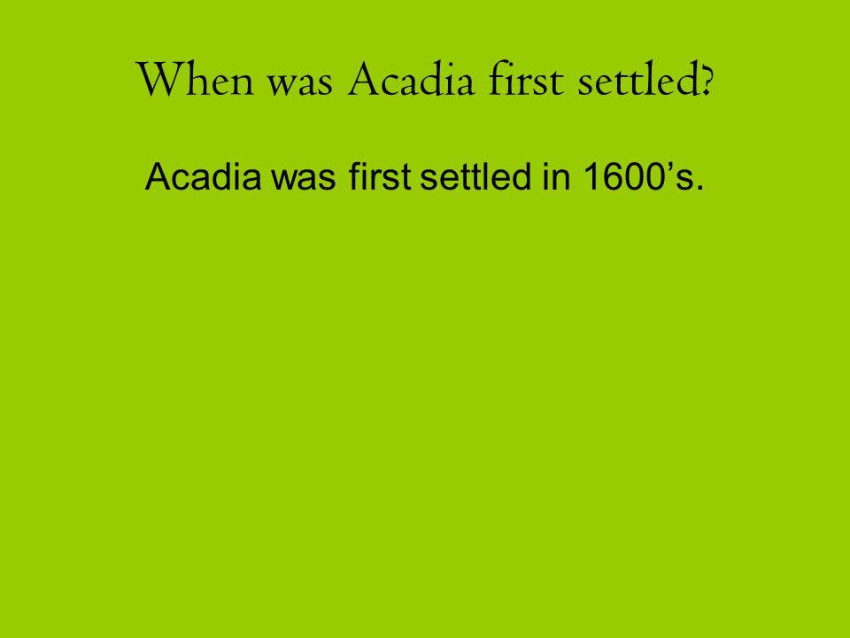 Acadians