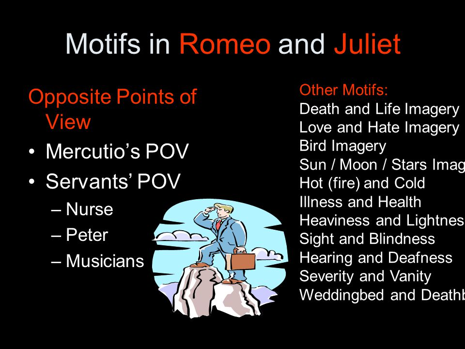 What role does love and hate play in Romeo and Juliet?