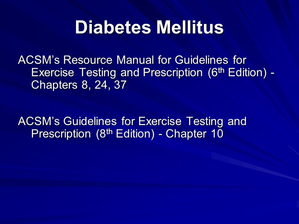Precautions for Avoiding Hyperglycemic Events  Aware of signs and symptoms of hyperglycemia: – Dehydration – Hypotension and reflex tachycardia – Frequent urination – Impaired consciousness – Nausea  Measure blood glucose and ketones before, during and after exercise − Postpone exercise if blood glucose >300mg/dL (~16.5mmol/L)or 240 mg/dL (~ 13 mmol/L) with ketones – Vomiting – Abdominal pain – Hyperventilation – Odor of acetone on breath