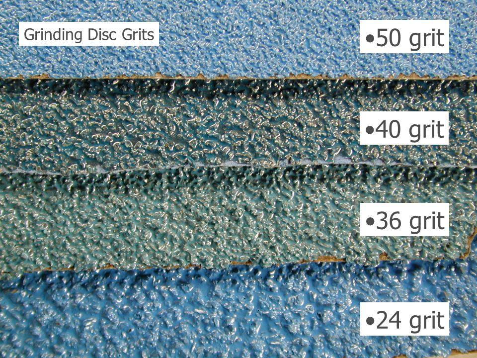 50 grit 40 grit 36 grit 24 grit Grinding Disc Grits
