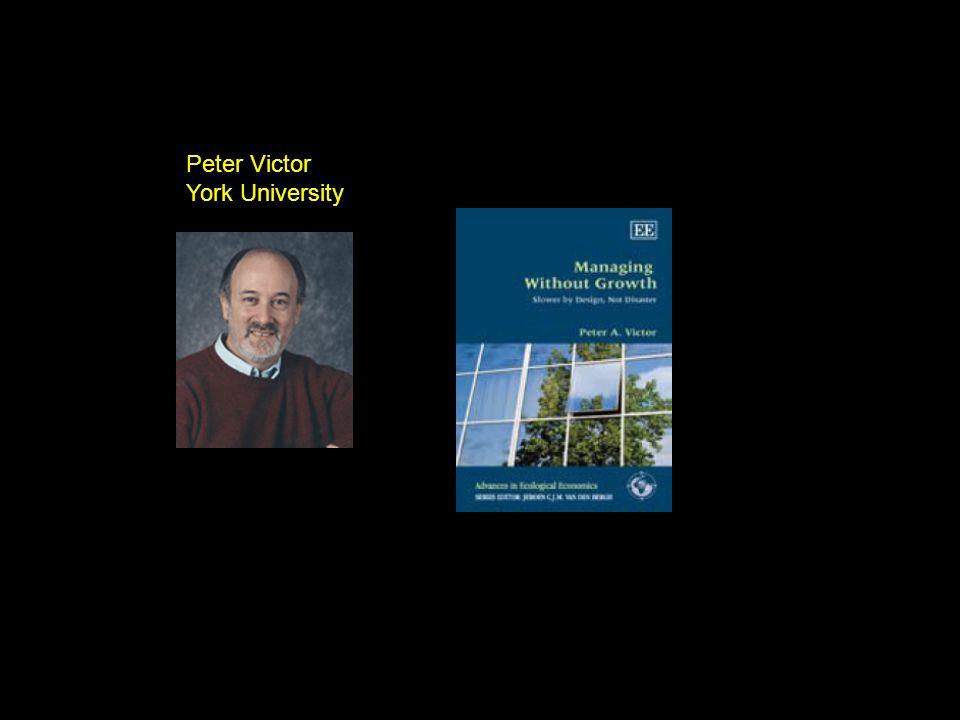 Peter Victor York University