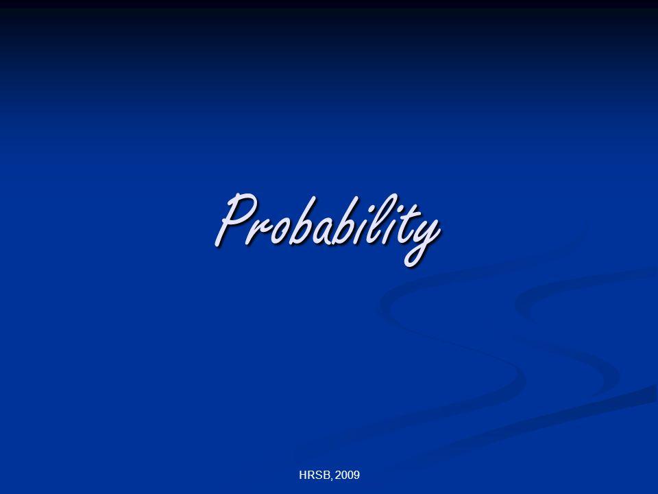 HRSB, 2009 Probability