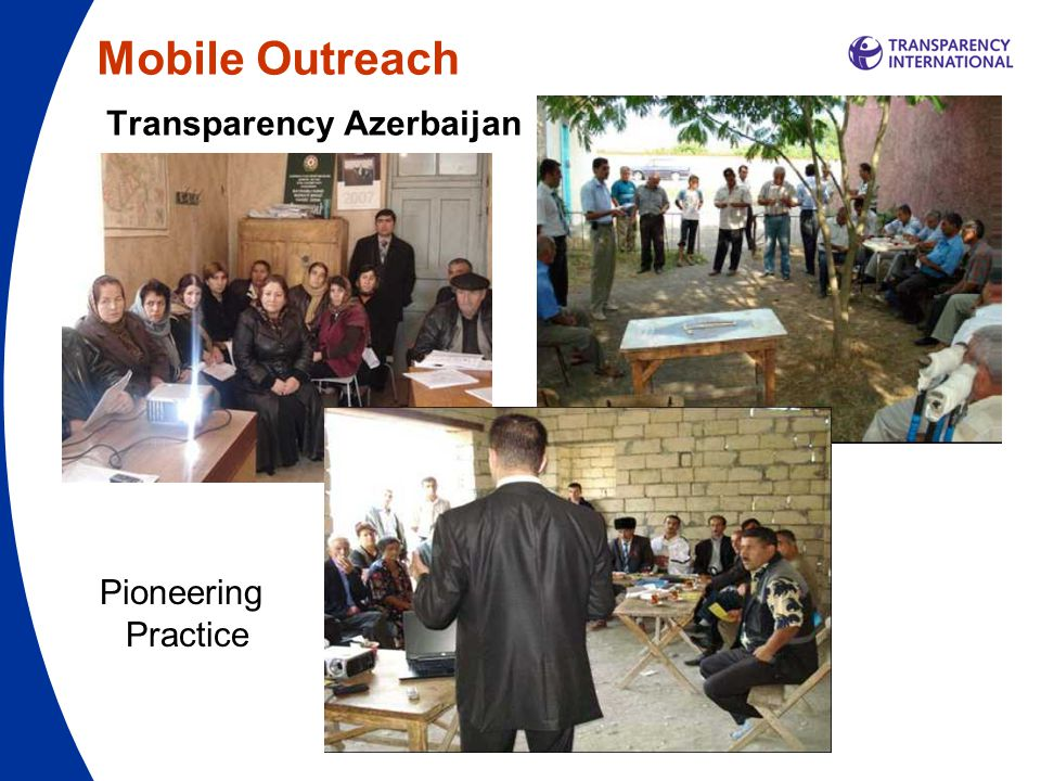 Mobile Outreach Transparency Azerbaijan Pioneering Practice